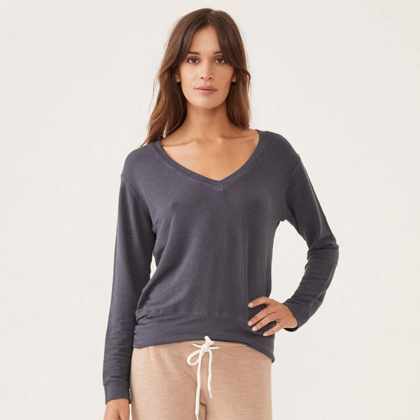 Supersoft V Neck Sweatshirt