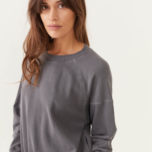 Slit Pocket Raglan