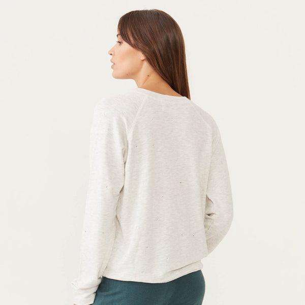 Supersoft Rhinestone Raglan
