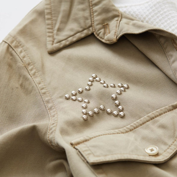 Star Stud Pocket Shirt