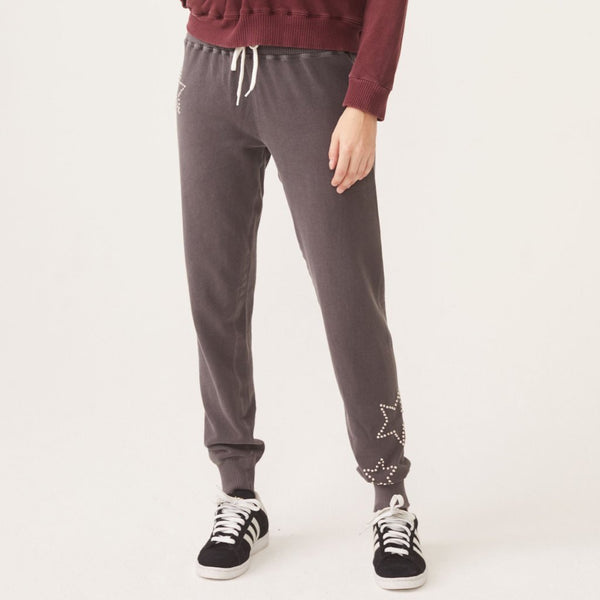 Star Stud Cuff Sweats