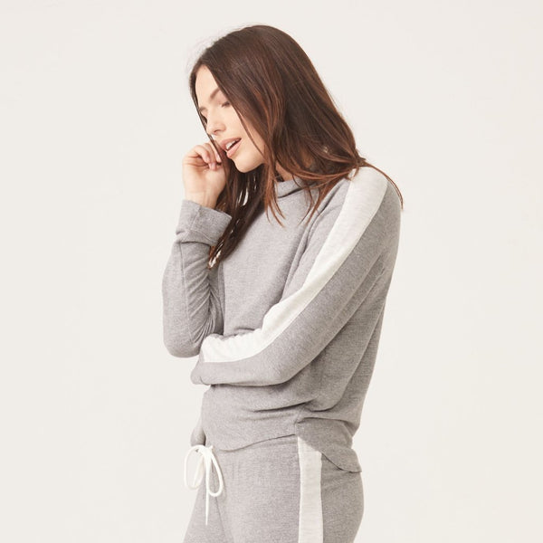 Supersoft Two Tone Turtleneck