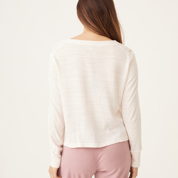 Tissue Thermal Henley