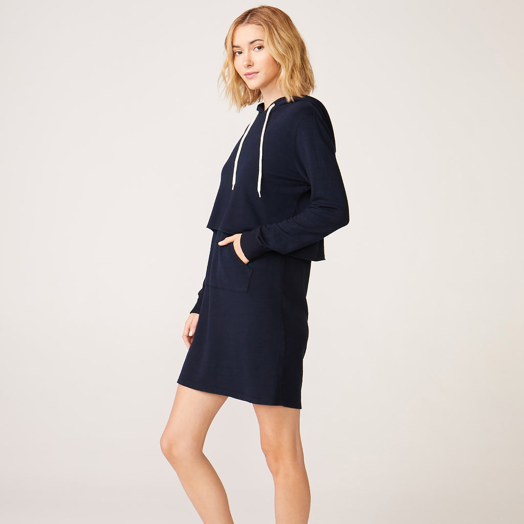 Supersoft Double Layer Hoody Dress