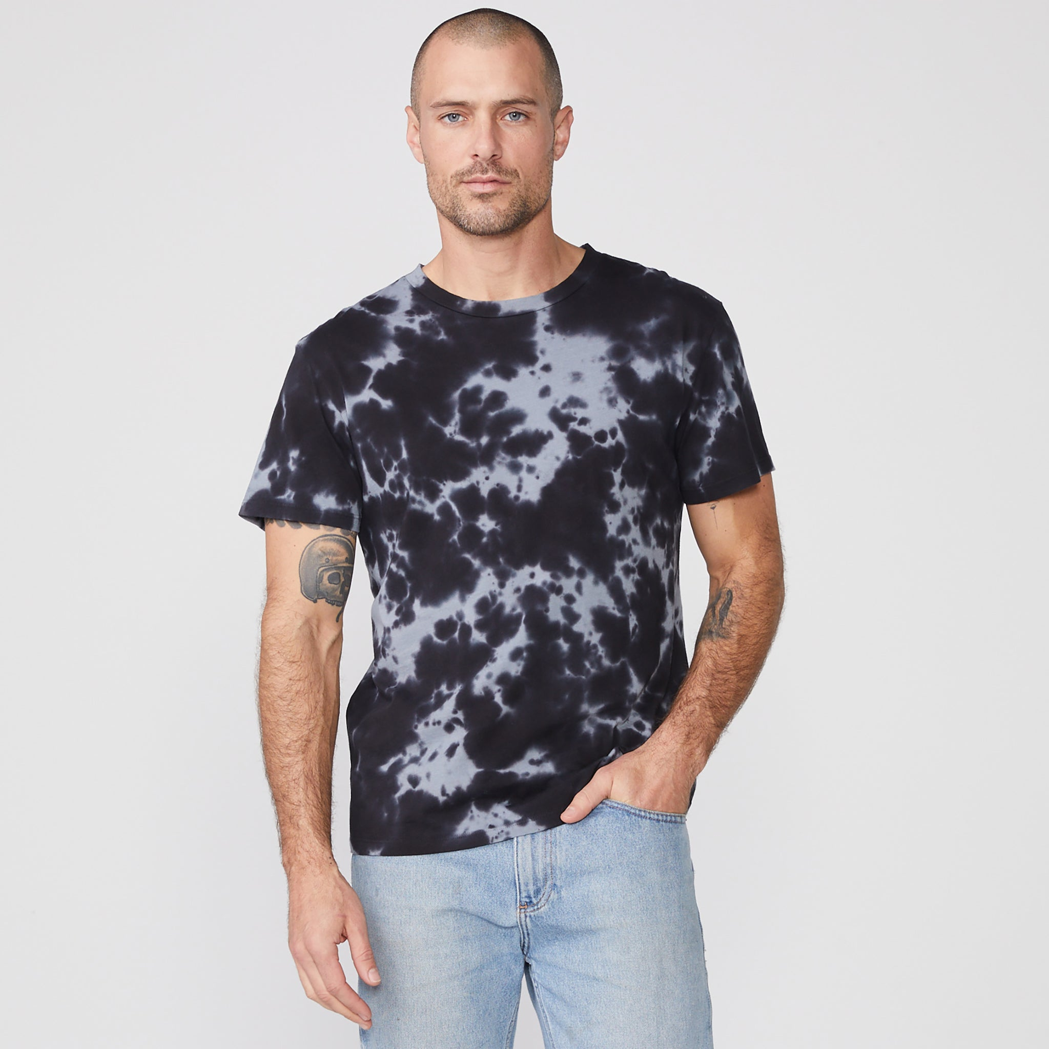 Tie Dye Relaxed Crew