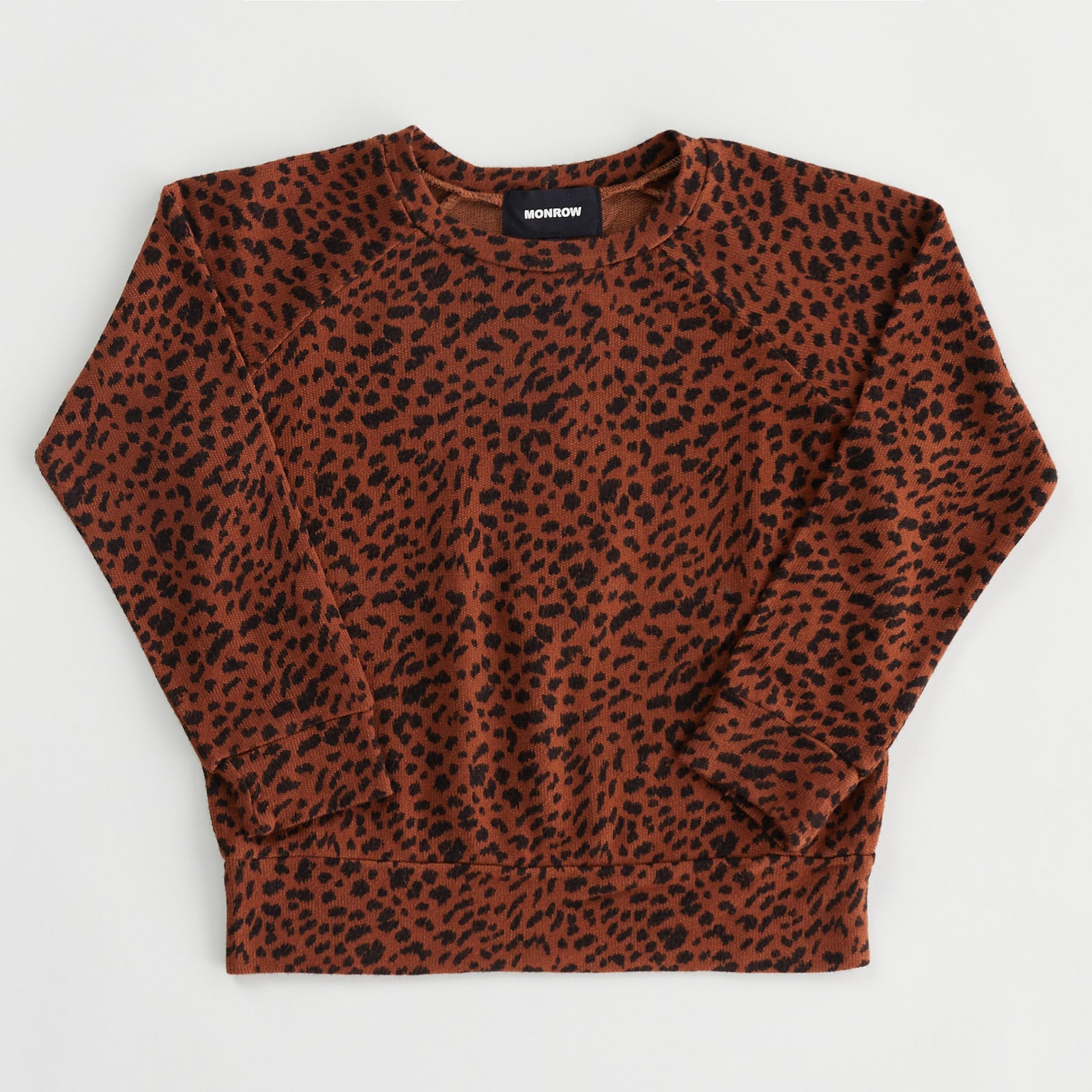 Kids Supersoft Mini Leopard Raglan (6089383379126)