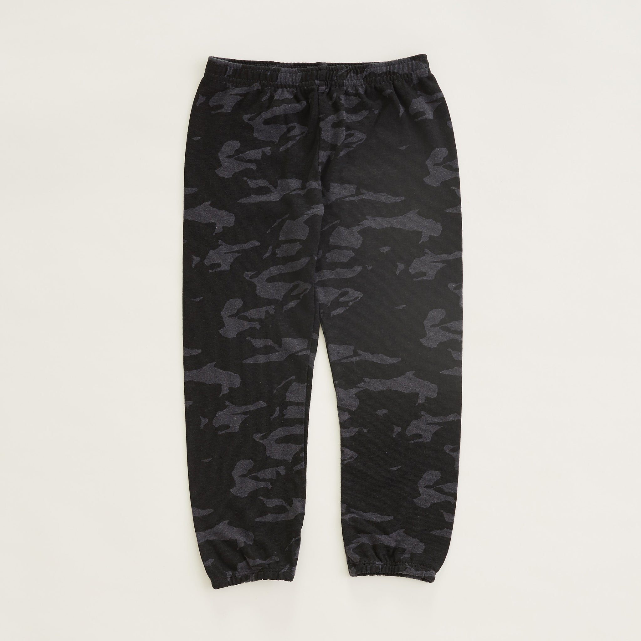 Kids Camo Elastic Waist Sweats