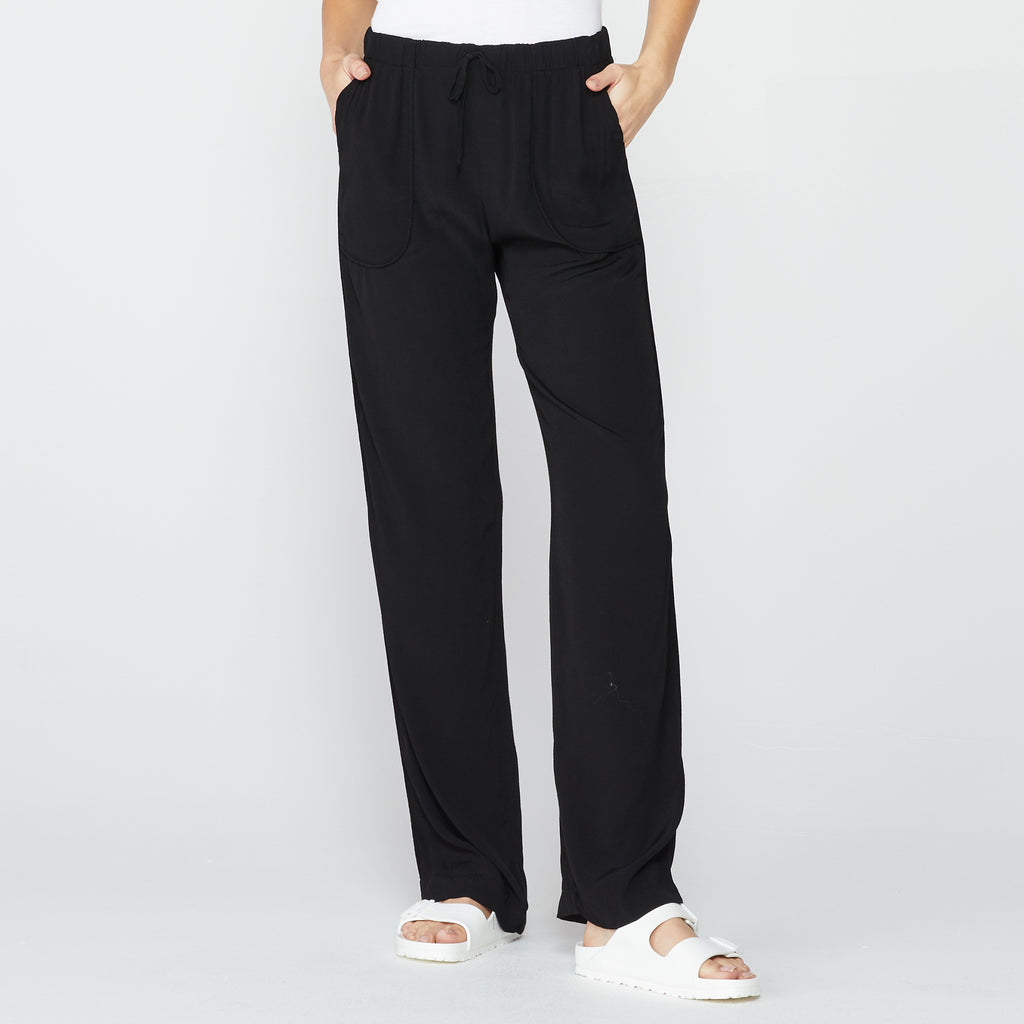 High Waisted Crepe Pant