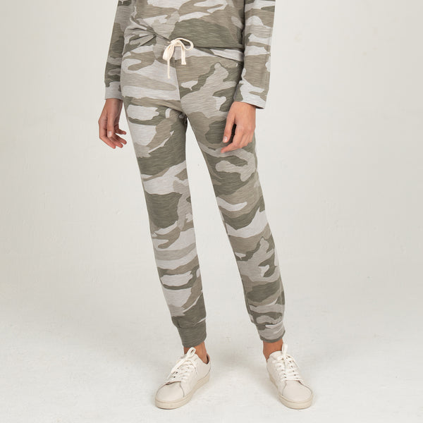 Supersoft Oversized Camo Girlfriend Sweats