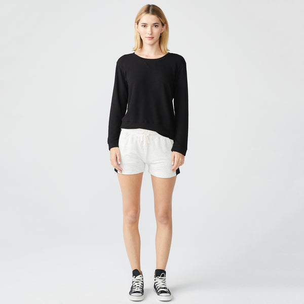 Supersoft Color Block Elastic Waist Shorts