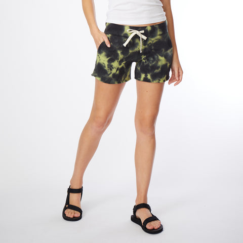 Blackout Tie Dye Pocket Shorts (4890651263078)