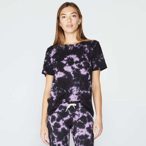 Blackout Tie Dye Oversized Crew (4536908447846)