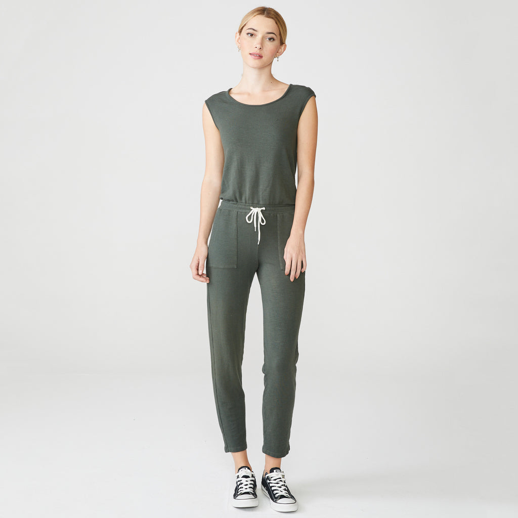 Supersoft Patch Pocket Jumpsuit