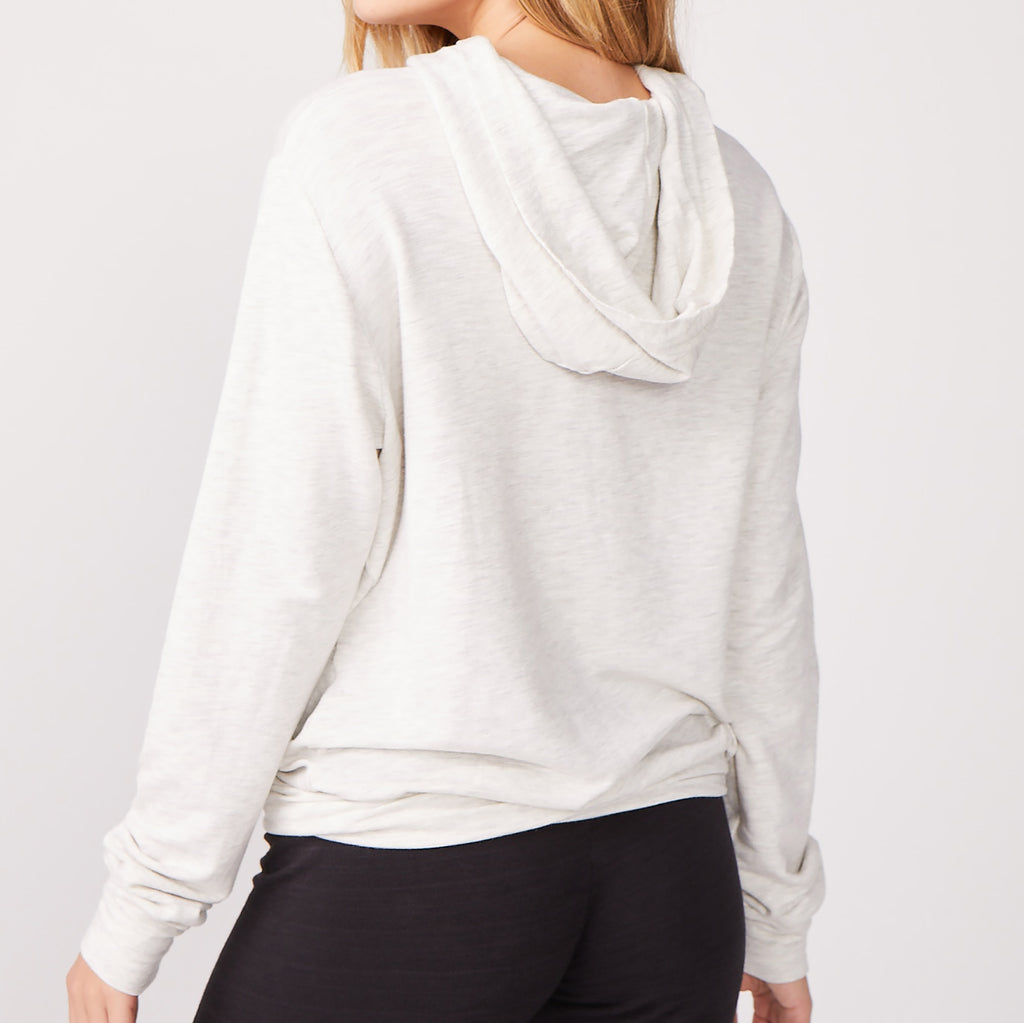 Supersoft Twisted Front Pullover Hoody