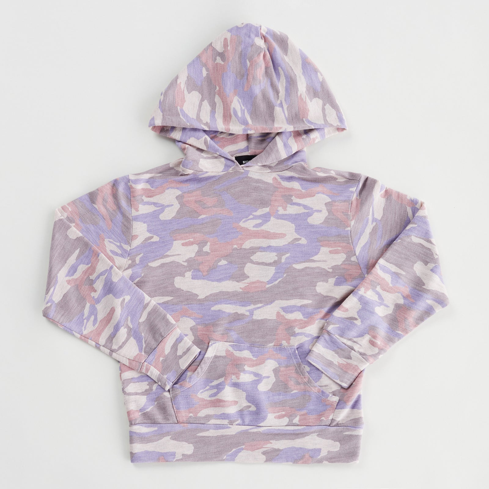 Kids Supersoft Camo Pullover Hoody (6089383444662)