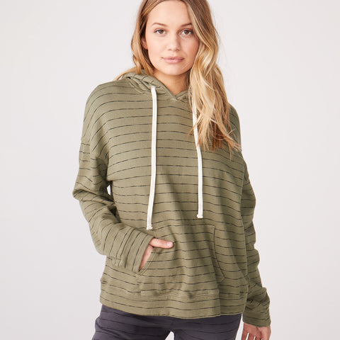 Stripe Oversized Hoody