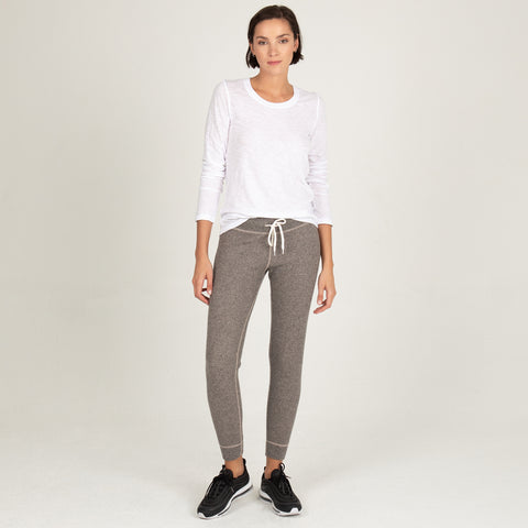 Brushed Thermal Cuff Sweats