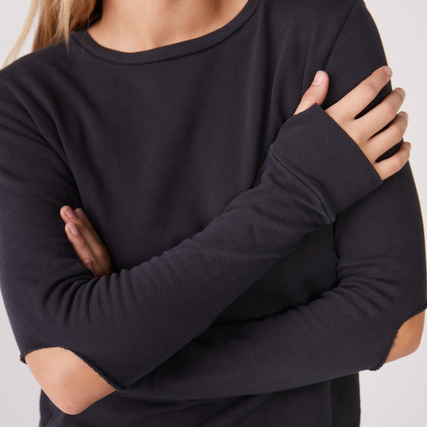 Slashed Sweatshirt
