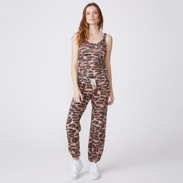 Animal Camo Narrow Rib Tank