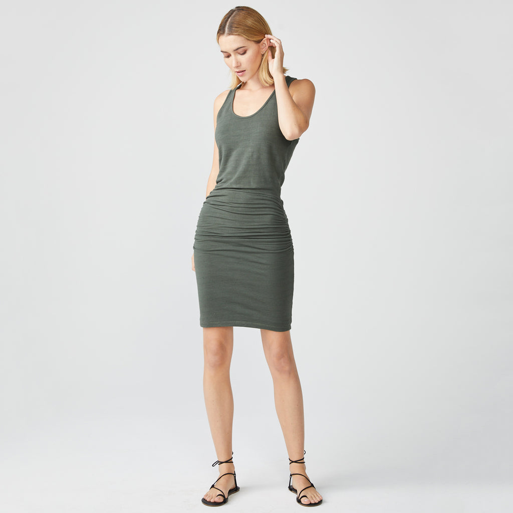 Supersoft Tank Shirred Dress