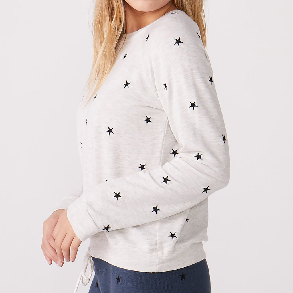 Supersoft Embroidered Star Vintage Raglan