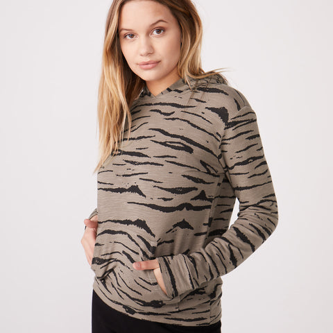 Supersoft Tiger Pullover Hoody
