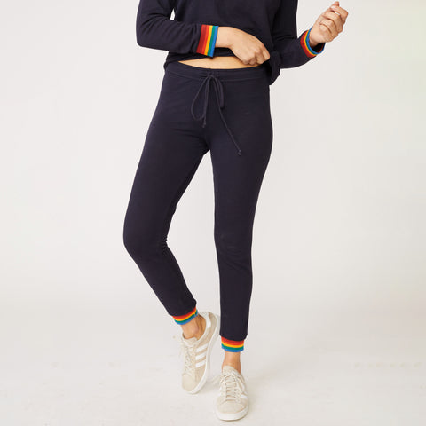 Supersoft Rainbow Cuff Skinny Sweats