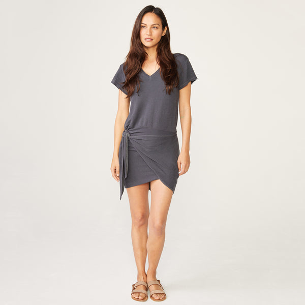 Supersoft Front Tie Dress