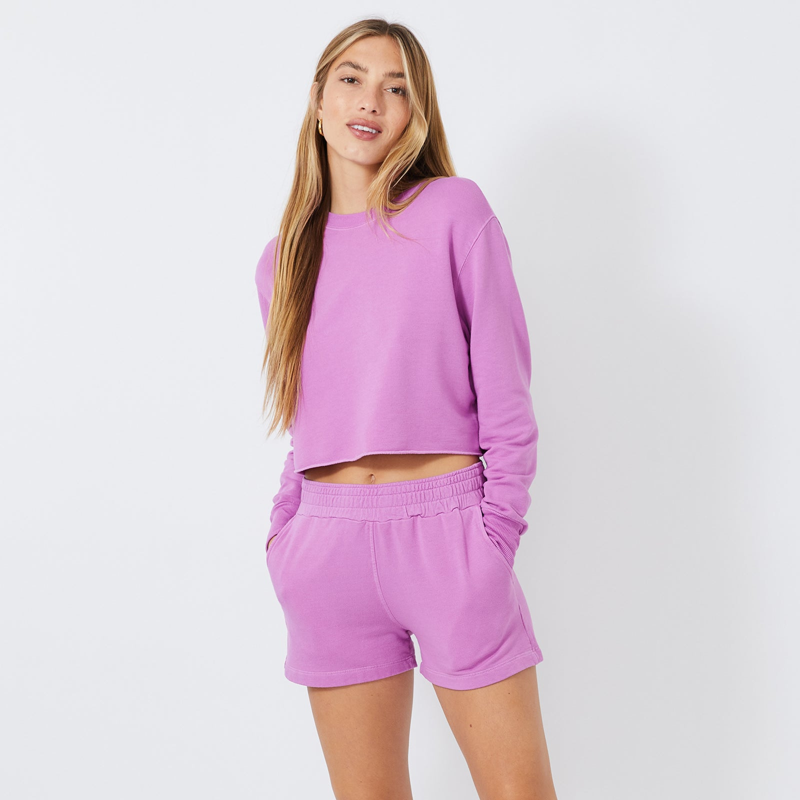 Cropped Boyfriend Sweatshirt