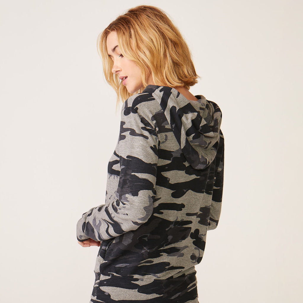 Supersoft Vintage Camo Pullover Hoody