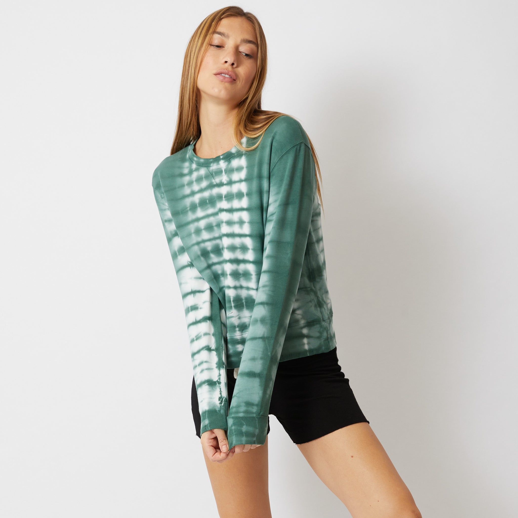 Alligator Tie Dye Sweatshirt