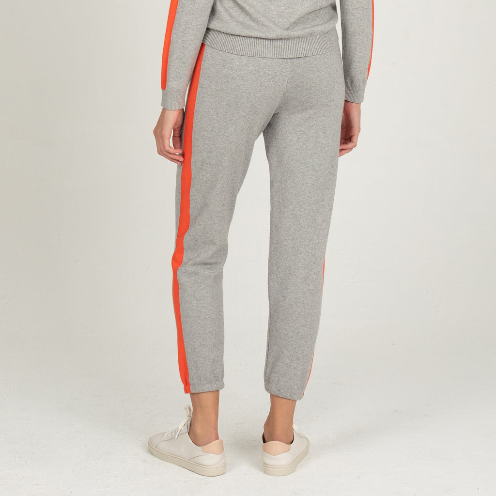 Cashmere Blend Contrast Stripe Vintage Sweats