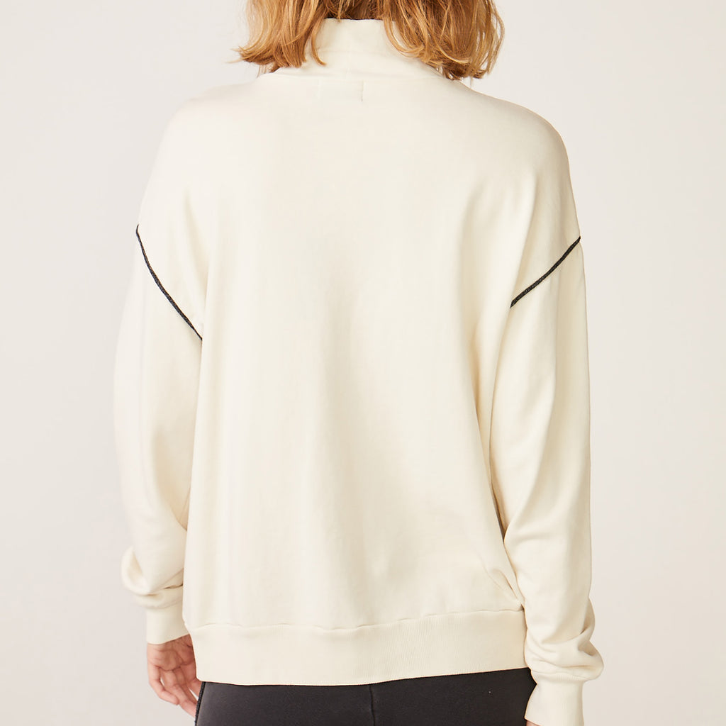 Slouchy Mocked Sweater