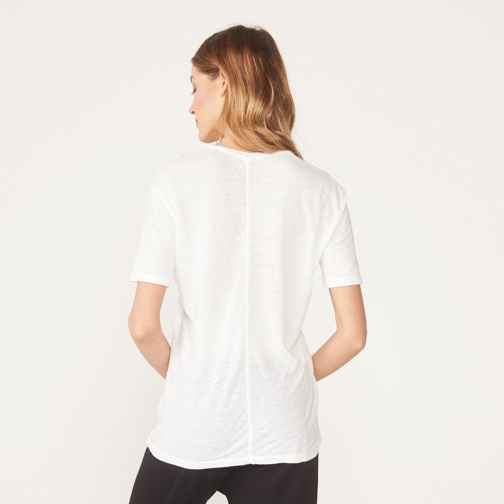 Maternity V Neck Pocket Tee