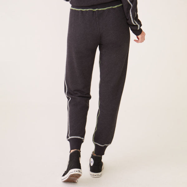 Pop Stitching Cuff Sweats