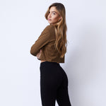 Cropped Long Sleeve Ex-Boyfriend Pocket Crew (4953629687910)