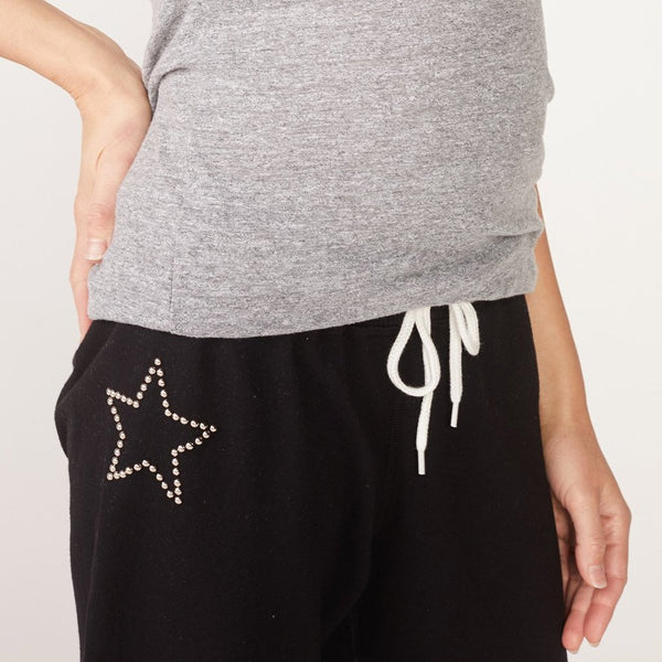 Maternity Star Stud Sweats