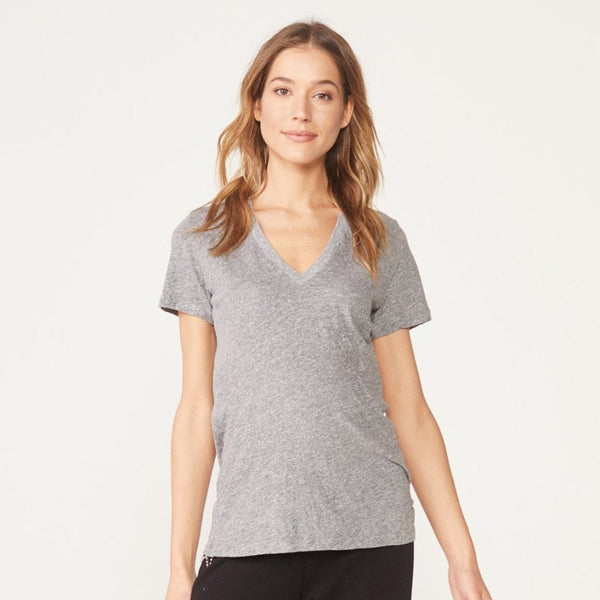 Maternity Granite V Neck Tee