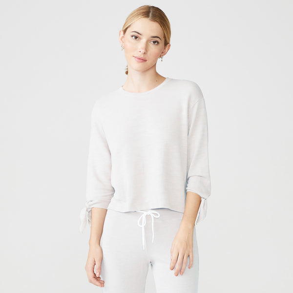 Supersoft Tied Sleeve Sweatshirt