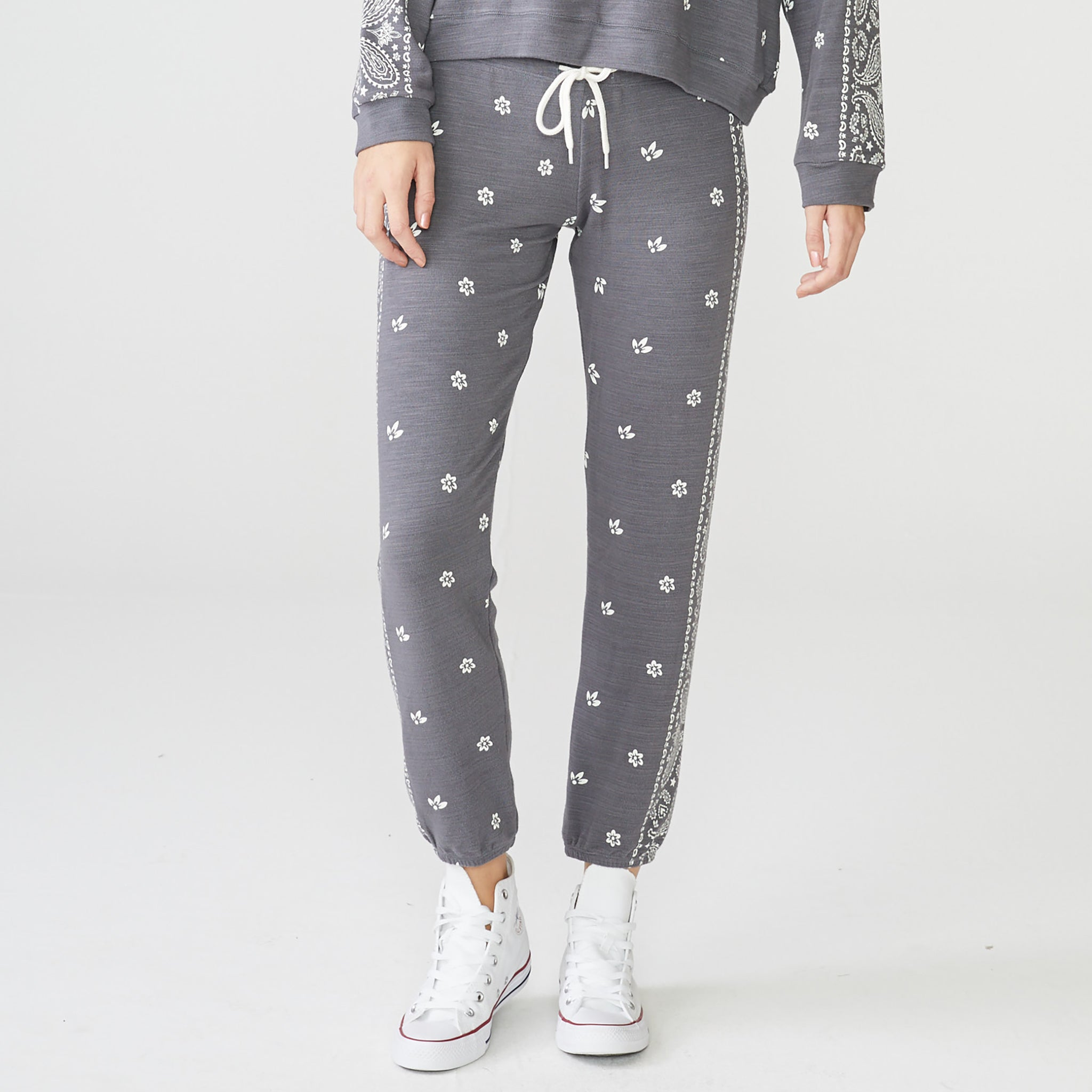 Supersoft Bandana Print Sweats