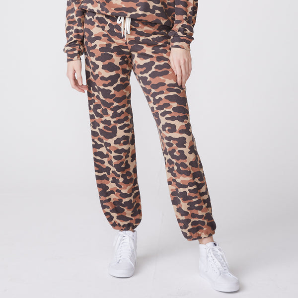Animal Camo Elastic Vintage Sweats