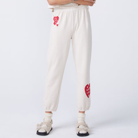 Love Letter High Waisted Vintage Sweats (6214111461558)