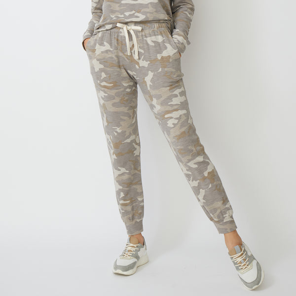 Supersoft Urban Camo Girlfriend Sweats