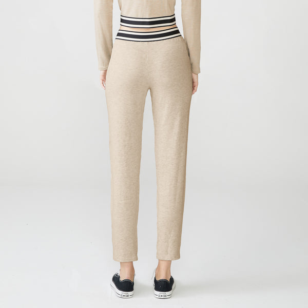 Supersoft Stripe Elastic Sweats