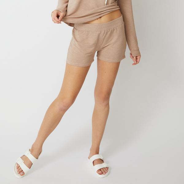 Supersoft Elastic Waist Shorts
