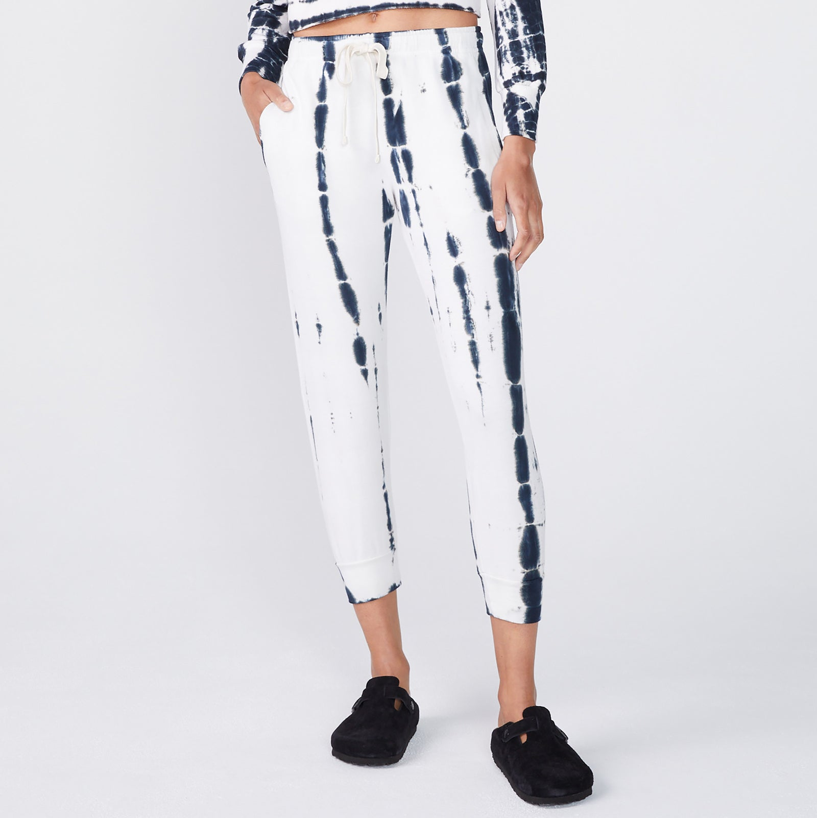 Painter Tie Dye Cropped Relaxed Sweats (6214111592630)