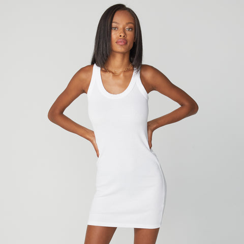 Scoop Neck Tank Dress (4866739142758)