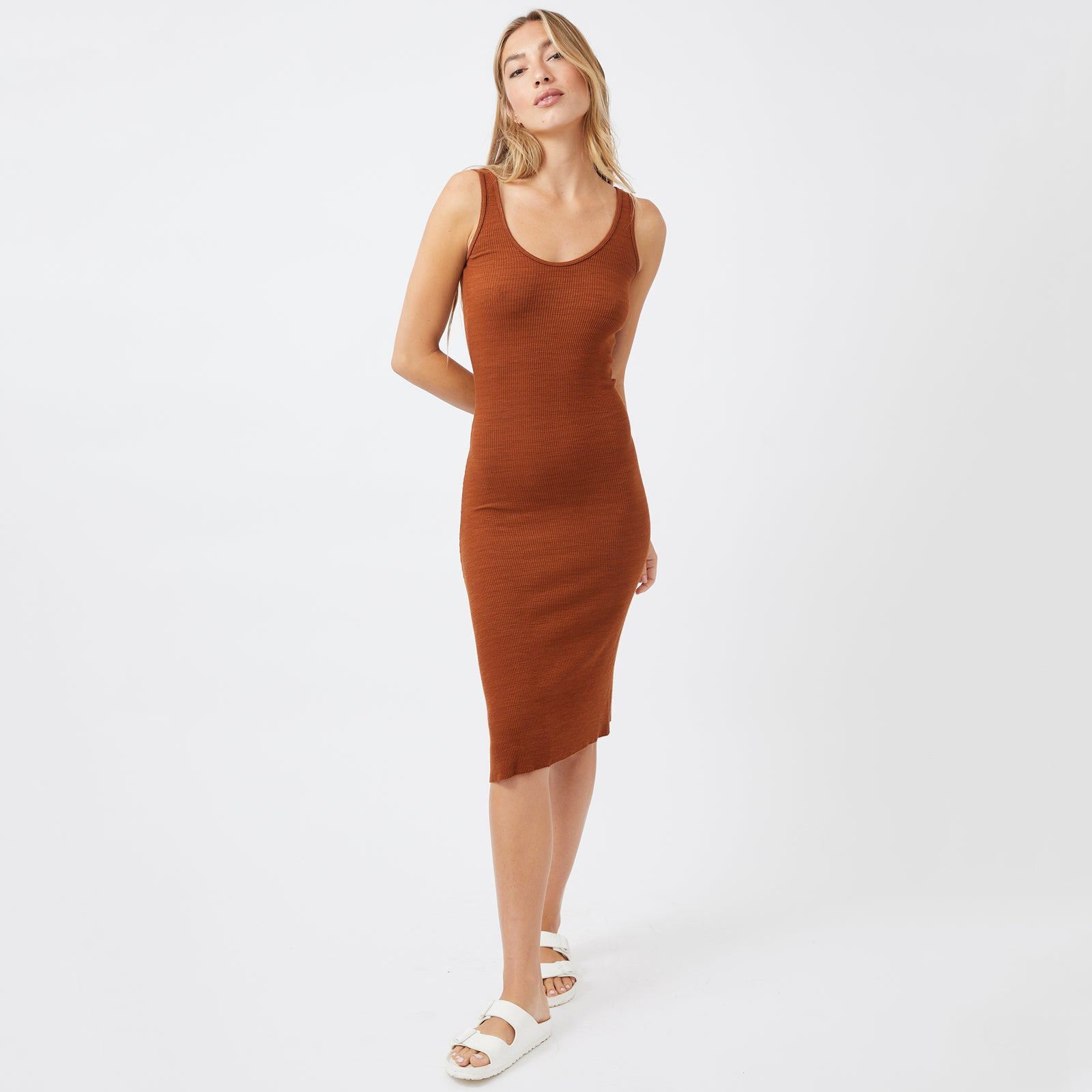 Supersoft Rib Tank Dress