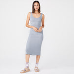 Supersoft Rib Tank Dress (6643420102838)