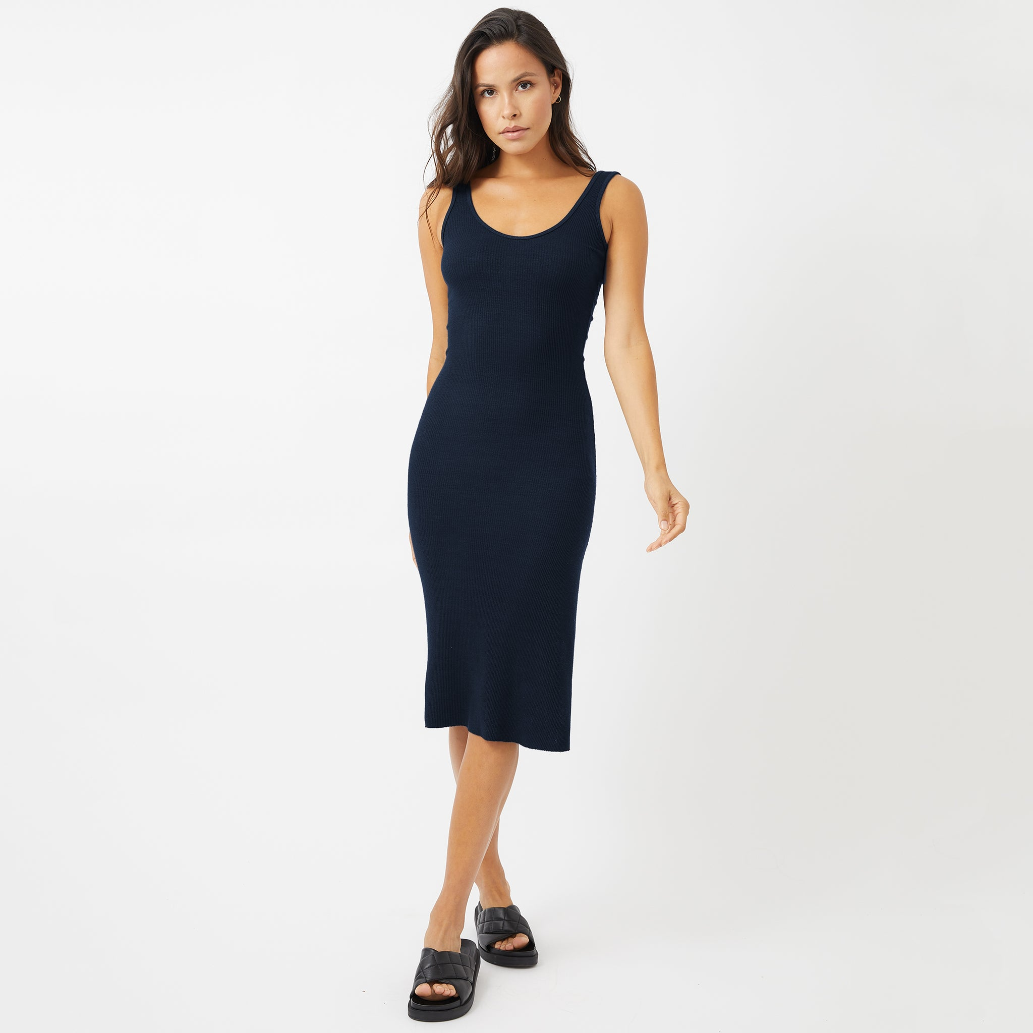 Supersoft Rib Tank Dress (4945169481830)